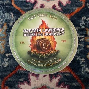 Vintage Captain Lawrence Brewing Company Frisbee